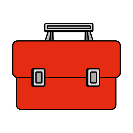 tools box handle icon vector illustration design