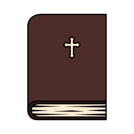 holy bible book icon vector illustration design Ilustrace