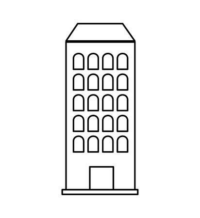 building construction isolated icon vector illustration design Standard-Bild - 120339631