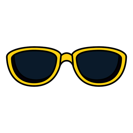 summer sunglasses accessory icon vector illustration design Stockfoto - 120344148