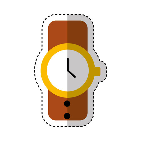 masculine hand watch icon vector illustration design Stock Vector - 123939911