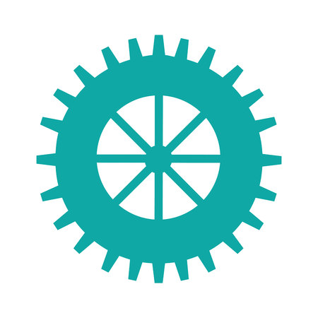 gears machine isolated icon vector illustration design Zdjęcie Seryjne - 123871031