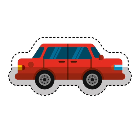 car vehicle isolated icon vector illustration design Stock Vector - 123874047