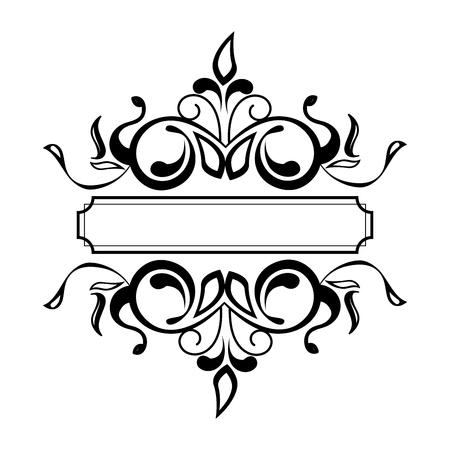 label victorian style icon vector illustration design 写真素材 - 123874089