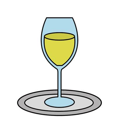 cup drink party isolated icon vector illustration design Archivio Fotografico - 123874206