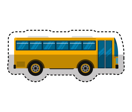 bus transport public icon vector illustration design Zdjęcie Seryjne - 120474979