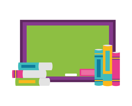 board books school supplies vector illustration design Ilustração