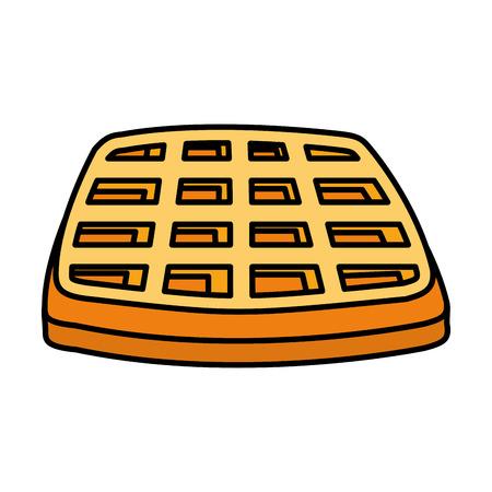 bread toast isolated icon vector illustration design Illustration