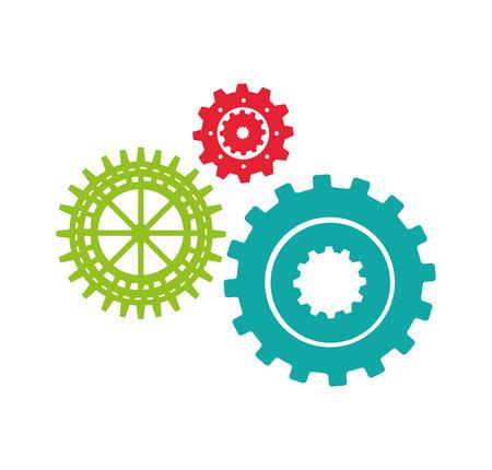 gears machine isolated icon vector illustration design Zdjęcie Seryjne - 120698350
