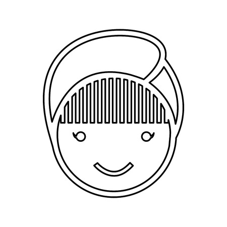 face woman spa isolated icon vector illustration design
