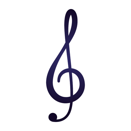 music note isolated icon vector illustration design  イラスト・ベクター素材