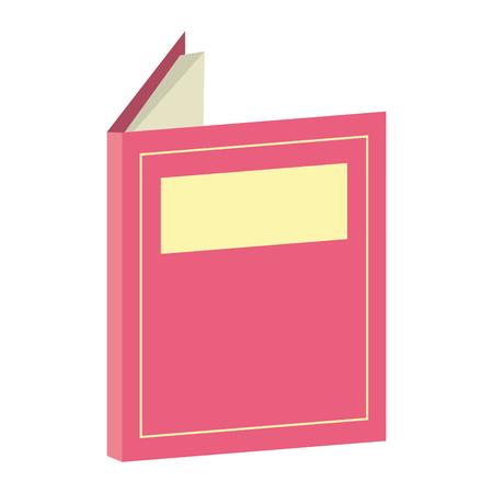open textbook world book day vector illustration Standard-Bild - 123547434