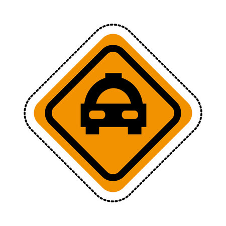taxi car service isolated icon vector illustration design Standard-Bild - 123547931