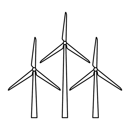 wind energy isolated icon vector illustration design Foto de archivo - 123553854