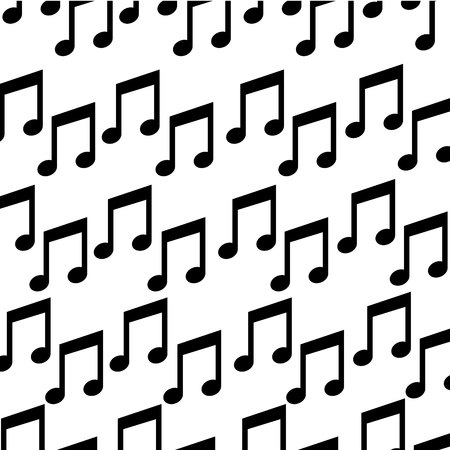 music note isolated icon vector illustration design Stock Vector - 123480010