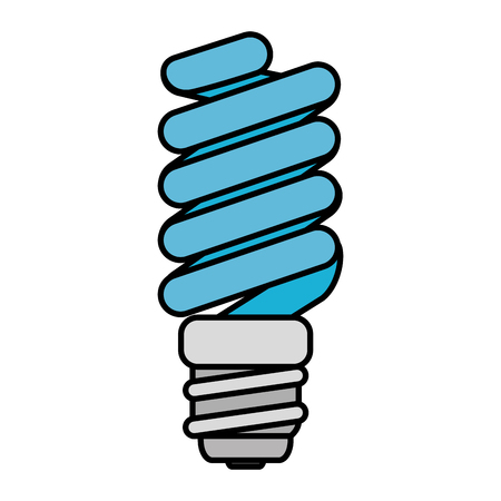 saver bulb energy icon vector illustration design Ilustração