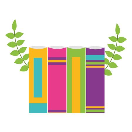 books learn school supplies vector illustration design Ilustração