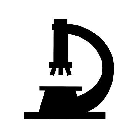 microscope laboratory isolated icon vector illustration design 일러스트