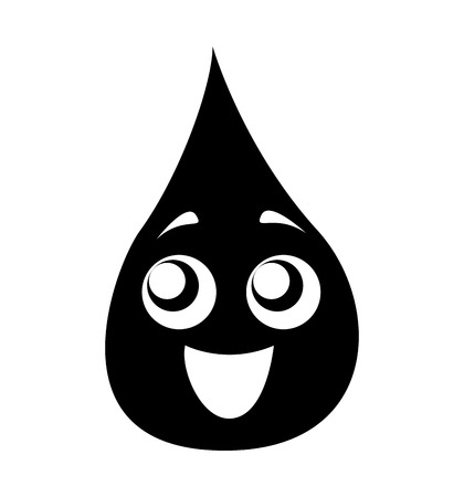 blood drop isolated icon vector illustration design Illustration
