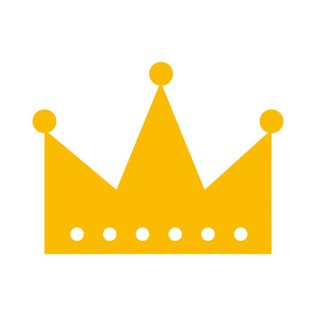 king crown isolated icon vector illustration design Imagens - 123430077