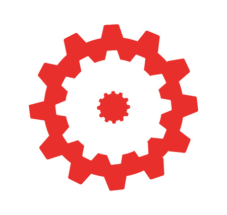 gears machine isolated icon vector illustration design Zdjęcie Seryjne - 121011025