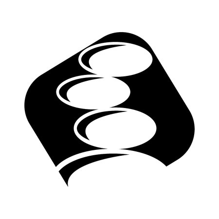 stones spa isolated icon vector illustration design