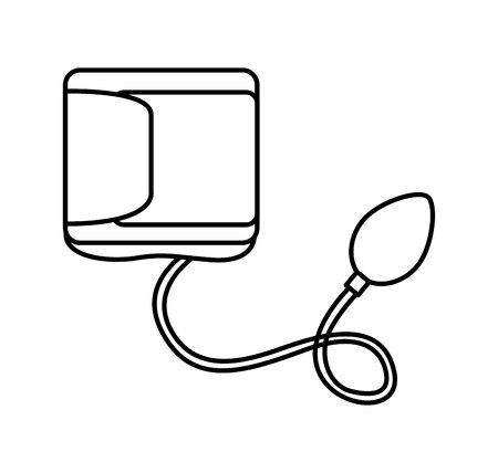 Blood pressure gauge isolated icon vector illustration design Reklamní fotografie - 123388153