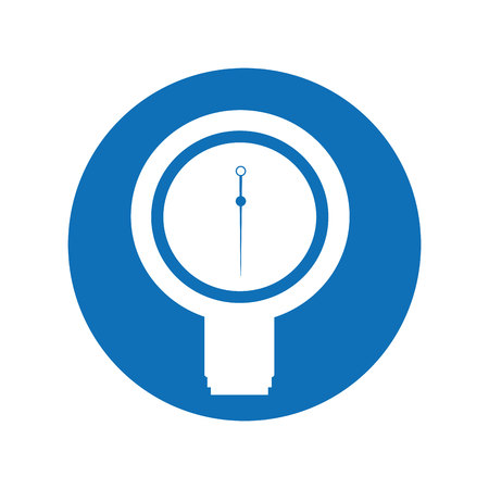 Blood pressure gauge isolated icon vector illustration design Reklamní fotografie - 123388308