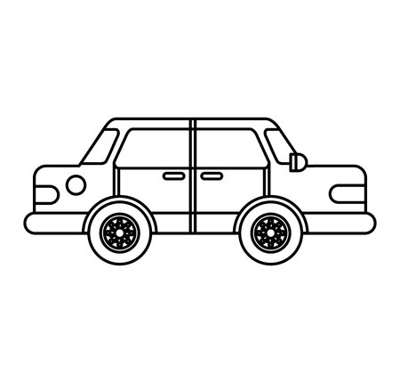 car vehicle isolated icon vector illustration design Stock Vector - 120997456