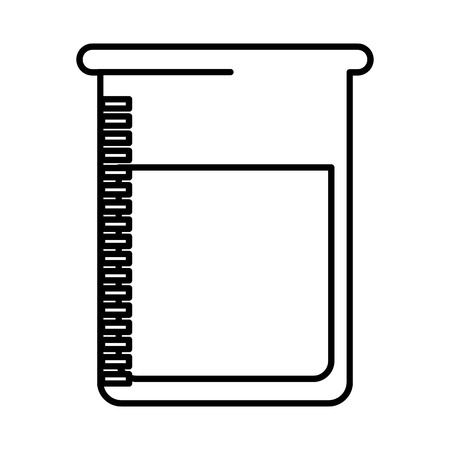 flask test isolated icon vector illustration design