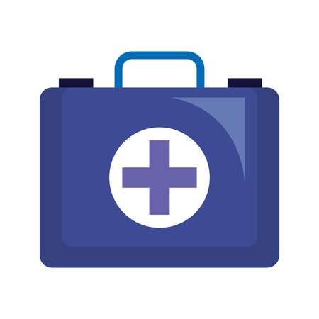 medical kit isolated icon vector illustration design Standard-Bild - 123388761