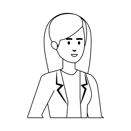 professional female doctor avatar character vector illustration design Stock Vector - 123349351