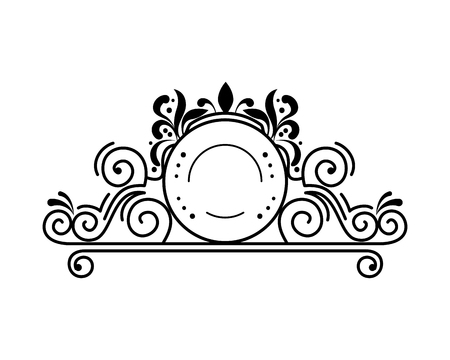 label victorian style icon vector illustration design 写真素材 - 123349785