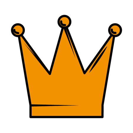 queen crown isolated icon vector illustration design Banque d'images - 121095584
