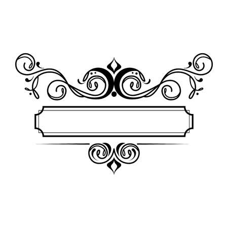 label victorian style icon vector illustration design 写真素材 - 123351509