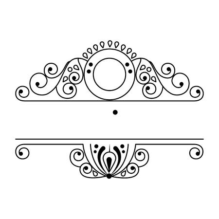 label victorian style icon vector illustration design