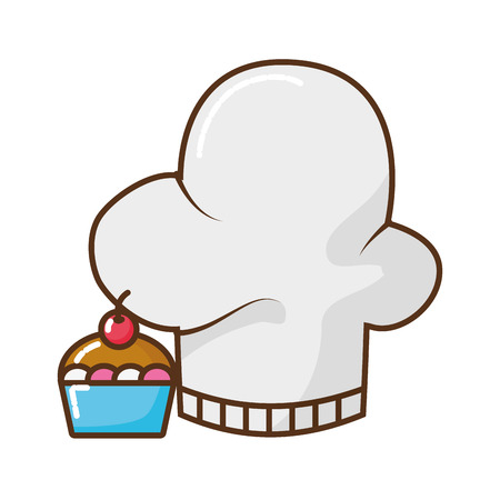 chef hat isolated icon vector illustration design Banque d'images - 123304984