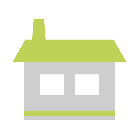 house home icon on white background vector illustration