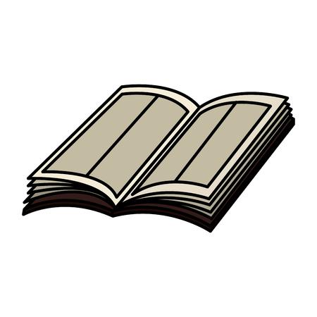 disegno dell'illustrazione di vettore dell'icona del libro della sacra bibbia Vettoriali
