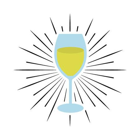 cup drink party isolated icon vector illustration design Archivio Fotografico - 123139413