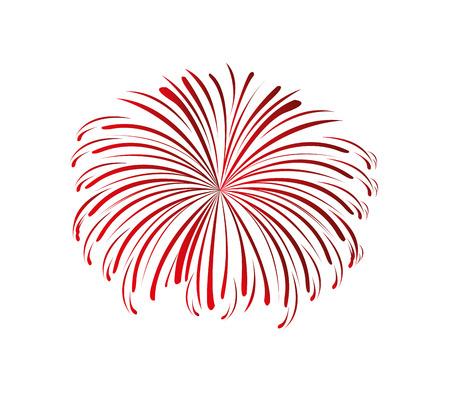 splash fireworks isolated icon vector illustration design Reklamní fotografie - 121288956