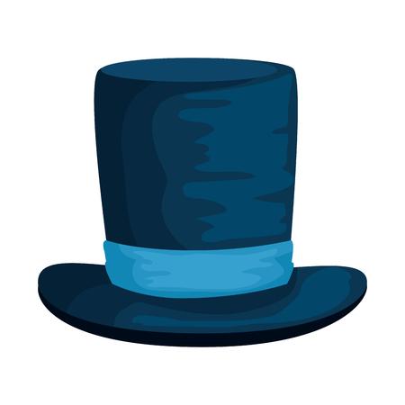 gentleman top hat accessory vector illustration design Banco de Imagens - 123142396
