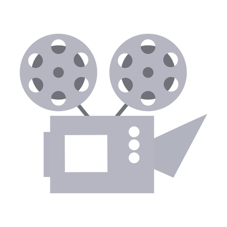 cinema projector isolated icon vector illustration design Foto de archivo - 123095360
