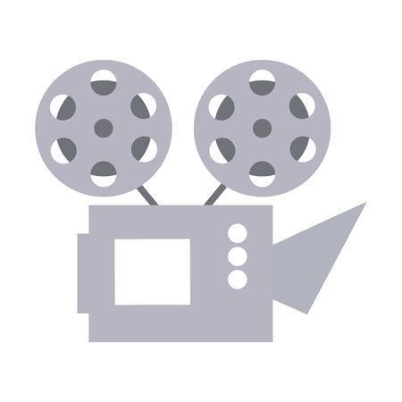 cinema projector isolated icon vector illustration design Foto de archivo - 123095430