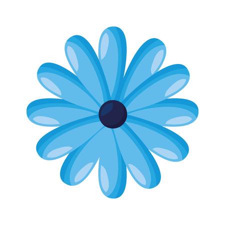 delicate flower decoration floral vector illustration  design Archivio Fotografico - 121427422