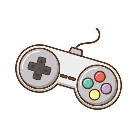 videogames control isolated icon vector illustration design