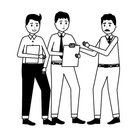 team people employee office vector illustration design Stock Illustratie