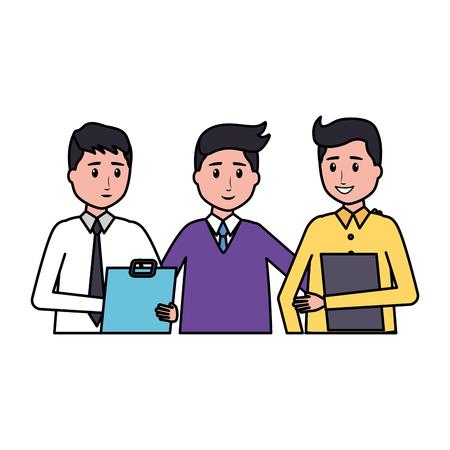 team people employee office vector illustration design 版權商用圖片 - 123056159