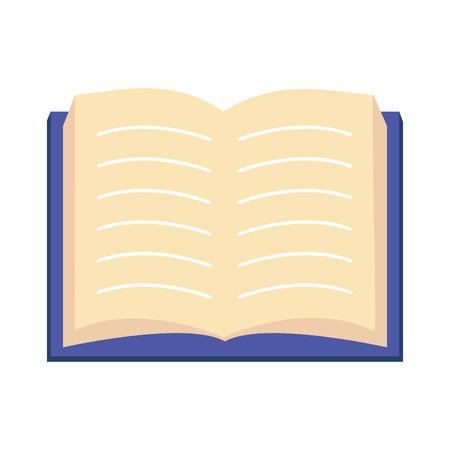 open textbook literature world book day vector illustration Иллюстрация