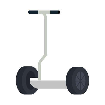 folding e-scooter isolated icon vector illustration design Imagens - 122996569